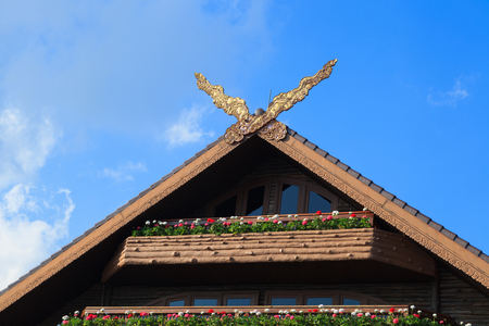 Thai Classical Northern Style Gable photo