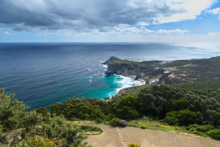 Diaz Beach at The Cape of Good Hope, near Cape Point, South Africa