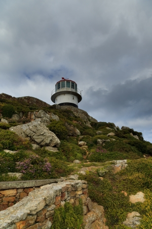 Light House at Cape of Good Hope, Cape Town, South Africa photo