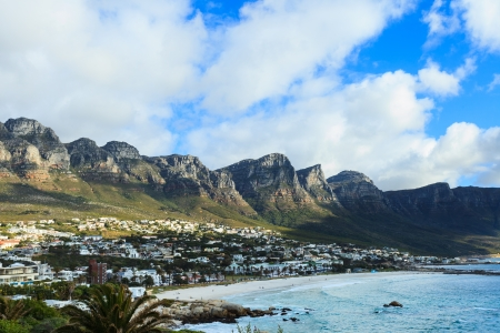 The twelve apostles mountain, Cape Town, South Africa Stock Photo