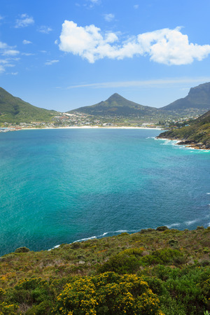 chapmans: View of Hout Bay from Chapmans Peak - Cape Town, South Africa