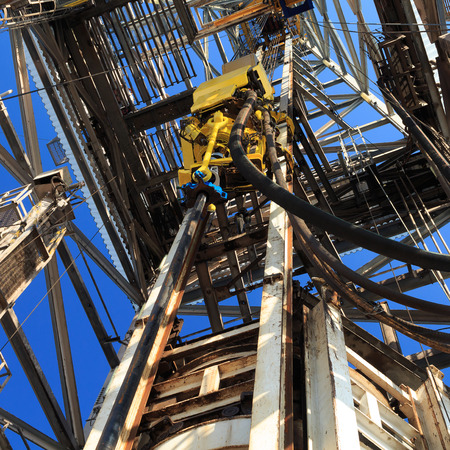 Top Drive System  TDS  Spinning for Oil Drilling Rig