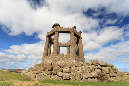 wojenne: Stonehaven War Memorial, Aberdeenshire, Szkocja, Wielka Brytania