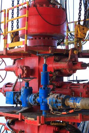 trabajador petroleros: Antierupción (BOP) de Offshore Drilling Rig