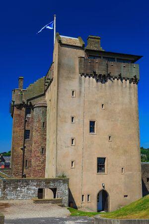 dundee: Broughty Castle Museum, Dundee, Scotland, UK