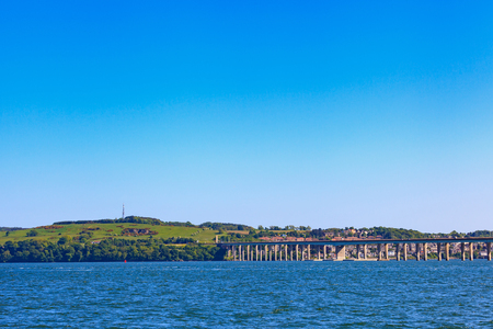 tay: Tay Road Bridge, Dundee, Scotland, UK Stock Photo