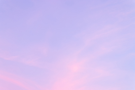 animate: Color through clouds in the evening sky.
