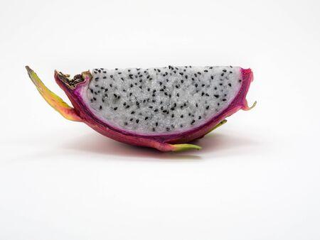 dragonfruit: Dragonfruit on white background isolate