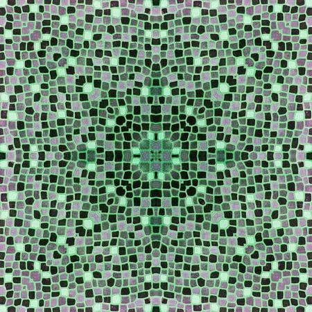 burgundy colour: mosaic tiles in burgundy green colour Stock Photo