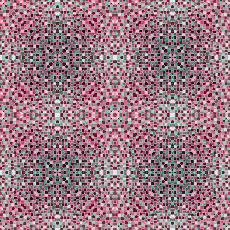 burgundy colour: mosaic tiles in burgundy red colour Stock Photo