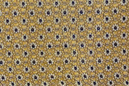 Background of Thai style handmade fabric pattern. photo
