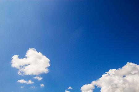 nimbi: clouds in the blue sky