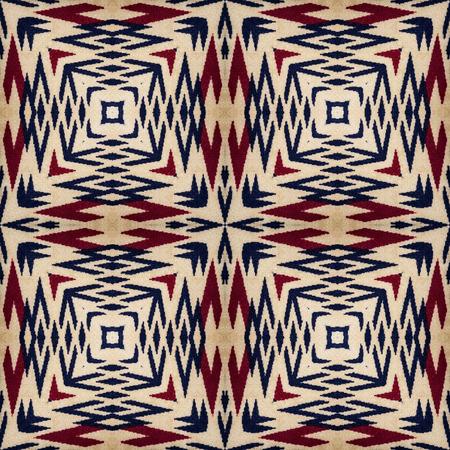 Background of Thai style fabric pattern photo