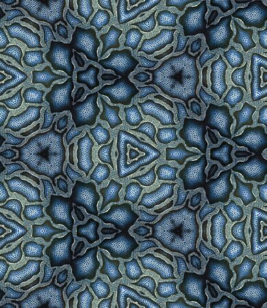 l hand: Background of Thai style fabric pattern