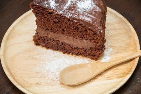 gateau chocolat: G�teau de chocolat noir