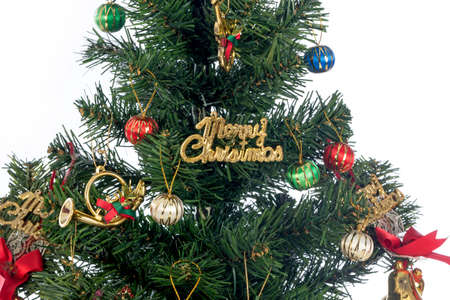 toygift: Closeup decorated Christmas tree