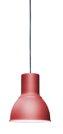 hanging lamp: Modern hanging lamp, isolated on white background. Stock Photo