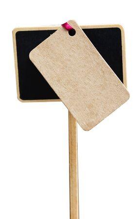 post scripts: Sign Chalk Board Stock Photo