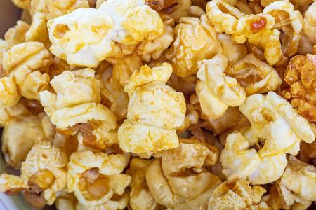 notch: popcorn texture Stock Photo