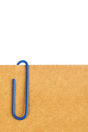 attach: paper clip attached to sheets of paper