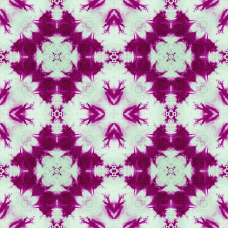 spectral colour: Background of Thai style fabric pattern