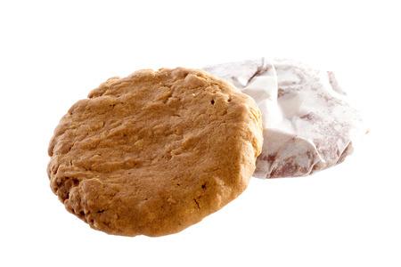 brocken: Cookies on a white background
