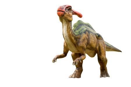 Modelo de dinosaurio tiranosaurio y monstruo aislado fondo blanco Foto de archivo - 78454279