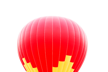 hot air balloon isolated on white background Banque d'images - 102673058