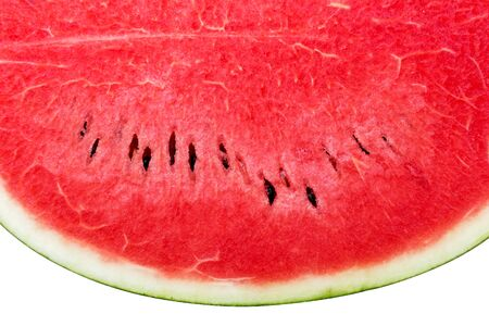 Watermelon fruit isolated on white background