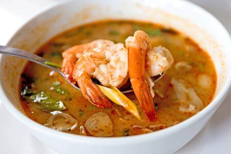 Cuisine thaïlandaise Tom Yum Goong