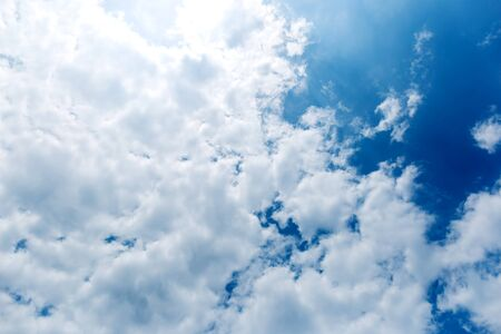 clouds in the blue sky Imagens - 139743132
