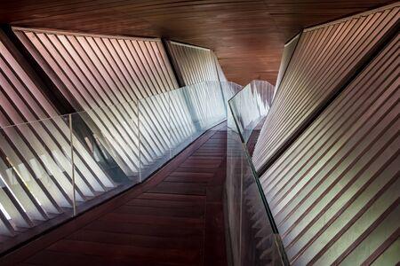 Modern architecture Standard-Bild - 128773205