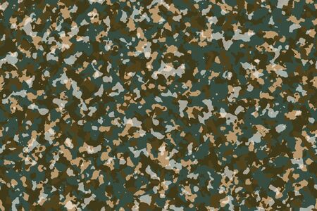 Earth Color Camouflage, Fashion pattern for use in designing suitable for outdoor work such as traveler clothing, Outdoor working group uniforms, Sports team jackets and others. Inspired by Topography of the world. 版權商用圖片 - 133213242