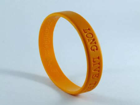 rubber band: Bracelet  Stock Photo