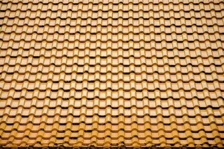 motif de tuiles en céramique jaunes