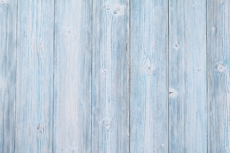 Abstract, textures or backgrounds concept : Top view or flat lay of blue wooden planks, rustic wallpaper with copy space, ready for adding or mock up