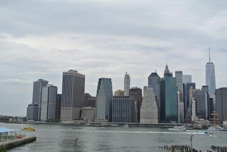 米国ニューヨークの風景 写真素材