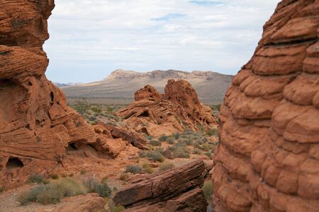 Valley of Fire Standard-Bild - 44152436