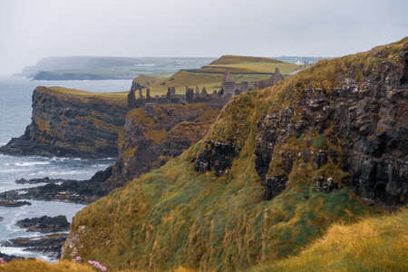 Dunluce Castle Ireland Editorial