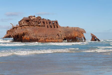vista: Shipwreck from Boa Vista, Cape Verde