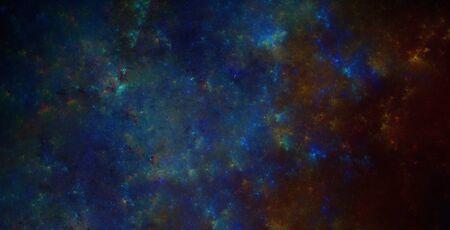 illustration new galaxy with fog and Emissions-fog Stock Illustration - 17071209
