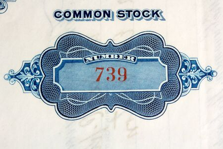 working paper series history of the stock market Stock Photo - 17445932