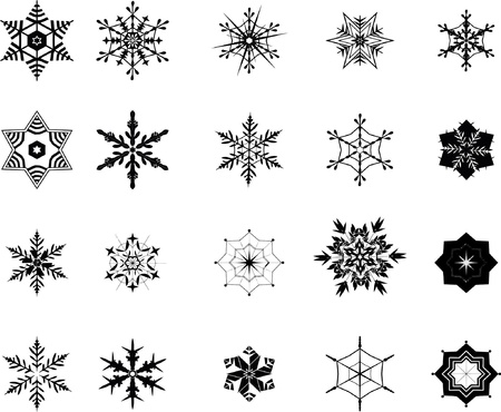 snowflakes Stock Vector - 17569765