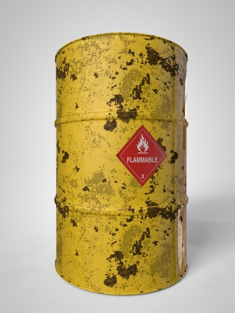 corroding container for oil and other fuel Stock Photo - 19551608