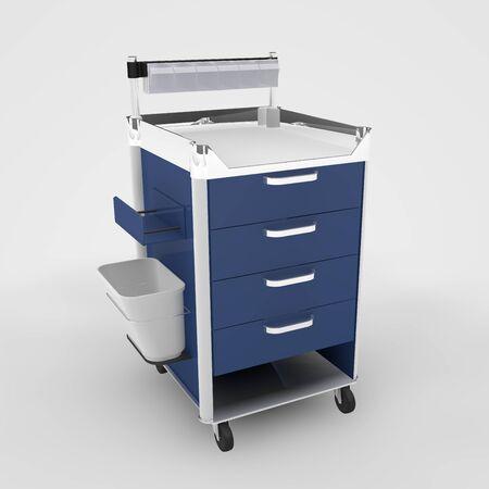 Computer rendered illustration one Medicine Cabinet