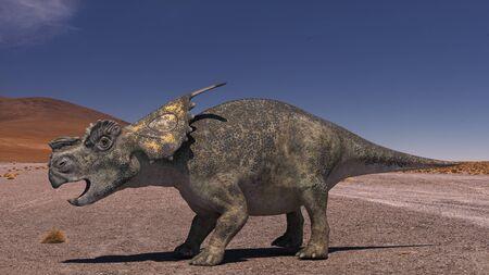 3D computer rendering illustration of Achelousaus