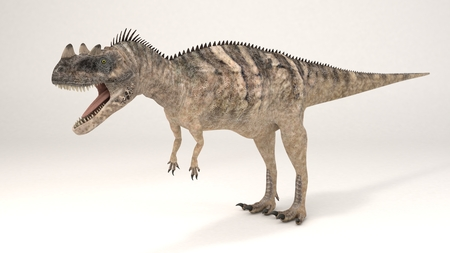 3D Computer rendering illustration of Ceratosaurus Stock Photo