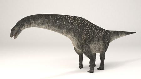 3D Computer rendering illustration of Titanosaurus