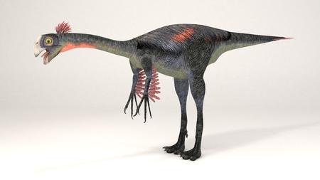 3D Computer rendering illustration of Gigantoraptor Stock fotó