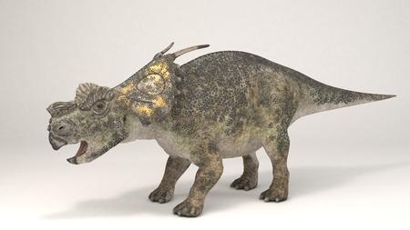 3D Computer rendering illustration of Achelousaurus Stock fotó